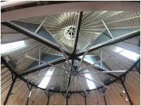 The Ceiling of the De Turk Round Barn