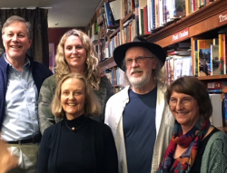 Poet laureates at Bird and Beckett
