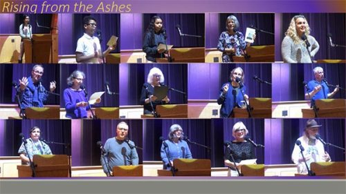 Rising from the Ashes collage