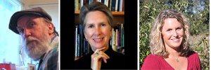 Bill Vartnaw, Katherine Hastings, Iris Dunckle